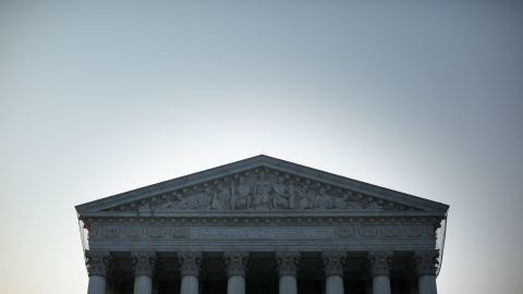 WASHINGTON, DC - JUNE 21:  An exterior view of the U.S. Supreme Court on June 21, 2012 in Washington, DC.