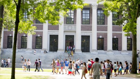On April 5th, 2017 students at Harvard start the first day of Resistance School -- a 4-week course in anti-Trump activism created by progressive students at the university's Kennedy School of Government.