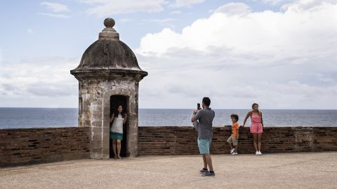 """Tourism is big business throughout the island and pulls in about $4 billion annually. The <a href=""""https://www.nps.gov/saju/learn/historyculture/san-cristobal.htm"""" target=""""_blank"""" target=""""_blank"""">Castillo San Cristóbal </a>in San Juan is a top attraction. It's one of the largest fortresses built in the Americas, constructed to protect the island from military attack."""