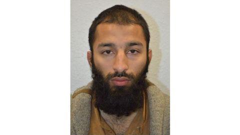 London Metropolitan Police have identified Khuram Shazad Butt, 27, as an attacker of the London Bridge on Saturday, June 3, 2017.
