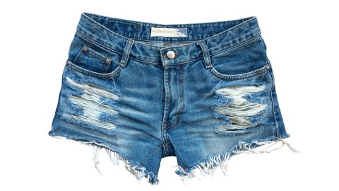 Shorts like these are prohibited at a Canadian high school where the dress code has sparked debate.