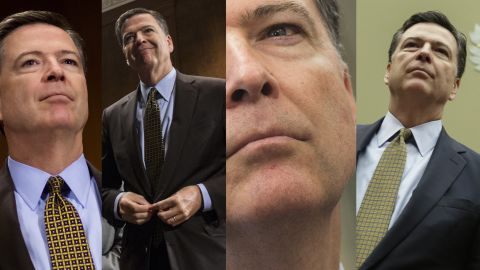 James Comey FBI quad split