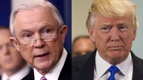 jeff sessions, president trump