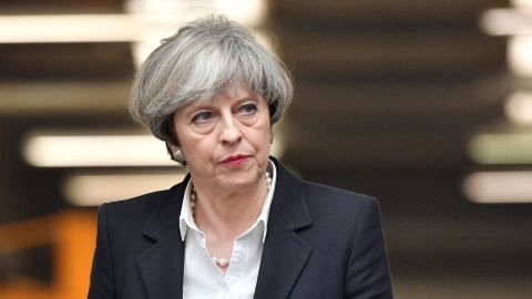 May looks like she's lost her majority.