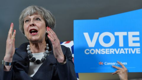 A hung parliament would be a disaster for May.