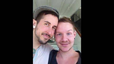 """""""We are a dedicated couple,"""" Trystan Reese says."""