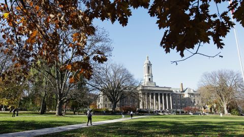 UNIVERSITY PARK, PA - NOVEMBER 08: The Penn State University campus is seen on November 8, 2011 in University Park, Pennsylvania. Amid allegations that former assistant Jerry Sandusky was involved with child sex abuse, Joe Paterno's weekly news conference was canceled about an hour before it was scheduled to occur. (Photo by Rob Carr/Getty Images)
