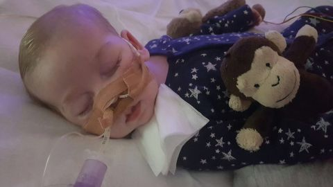 10-month-old Charlie Gard will remain on life support at London's Great Ormond Street Hospital.
