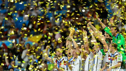 Germany are the reigning world champions.