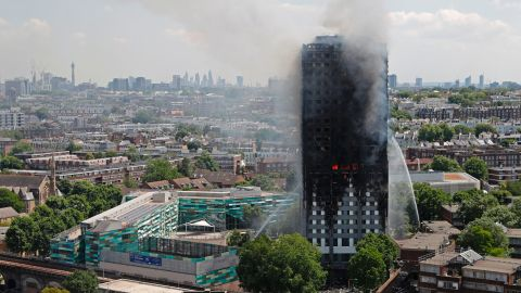 Seventy-two people were killed in the Grenfell Tower fire in London last year.
