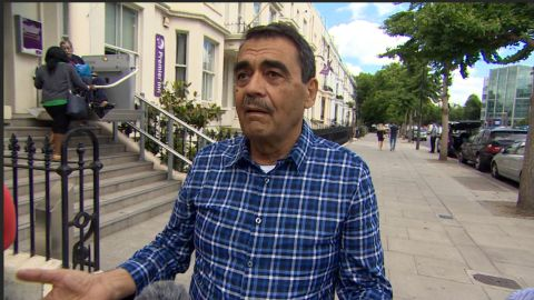 Sabah Abdullah describes losing his wife while fleeing the Grenfell Apartment fire in London and his desperate search to find her.