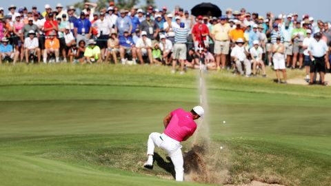 Former world No. 1 Jason Day  was another who had a tough day at the office with a seven-over 79.