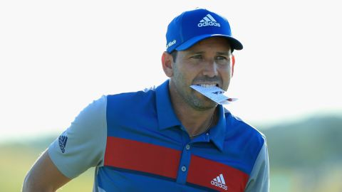 Masters champion Sergio Garcia, who is set to get married later this year, carded a two-under 70 as he tries to emulate Jordan Spieth in 2015 in winning the Masters and US Open back-to-back.