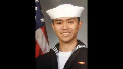Fire Controlman 2nd Class Carlos Victor Ganzon Sibayan, 23, from Chula Vista, California.