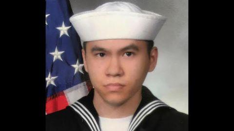 Sonar Technician 3rd Class Ngoc T Truong Huynh, 25, from Oakville, Connecticut.