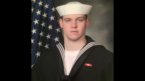 Seven missing sailors from the USS Fitzgerald were found dead in flooded berthing compartments following the warship's collision with a merchant vessel, a US military official said.The Navy's 7th Fleet said searchers found the bodies Sunday morning, Japan time, after the guided-missile destroyer returned to its base in Japan.<br />Gunner's Mate Seaman Dakota Kyle Rigsby, 19, from Palmyra, Virginia.
