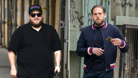 """Jonah Hill fans immediately noticed the actor's new summer bod for 2017 and applauded his fit overhaul as inspiring. Hill credited his recent slim down to advice from """"21 Jump Street"""" co-star Channing Tatum."""