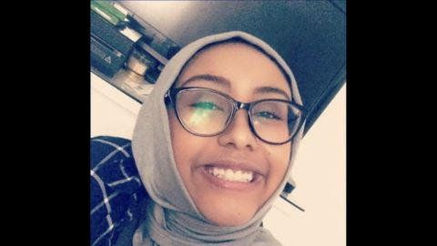 Nabra Hassanen, 17, died from blunt-force trauma to the upper body, police said.