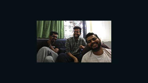 East India Comedy members Azeem Banatwalla, Kunal Rao, and Sapan Verma.