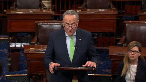 Chuck Schumer Senate floor