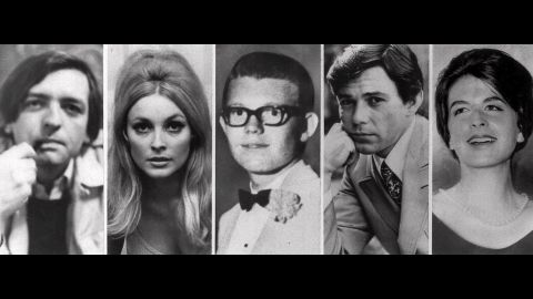 Those killed at the home of Roman Polanski. From left, Wojciech Frykowski, Sharon Tate, Stephen Parent, Jay Sebring and Abigail Folger. The next night, Rosemary and Leno LaBianca, a wealthy couple who lived across town, were stabbed to death in their home.