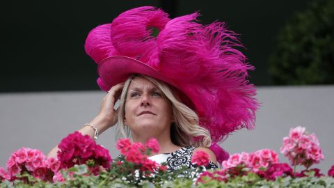 Some restrictions still remained. Women in the Royal Enclosure must not expose their shoulders, although ladies are permitted to wear jumpsuits this year for the first time in the event's history -- as long as they reach to the ankle.