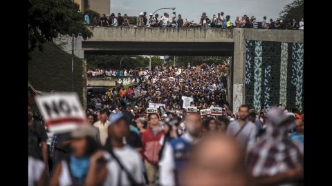 Protests have been raging in Venezuela for months.