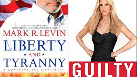 """""""Liberty and Tyranny: A Conservative Manifesto"""" and """"Guilty: Liberal 'Victims' and their Assault on America"""" were two of the books on the reading list."""