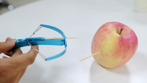 Handheld crossbows that can fire out needles and nails are the latest must-have toy in China but anxious parents want them banned.