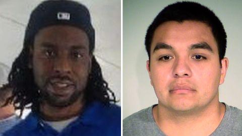 Philando Castile, left, and Officer Jeronimo Yanez