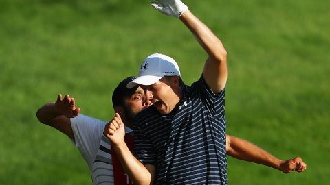 Spieth beat compatriot Daniel Berger in a playoff to claim a 10th PGA Tour title.