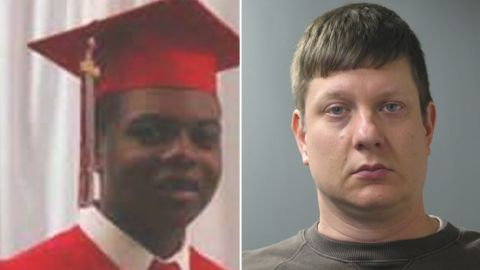 Jason Van Dyke,  right, is charged with first-degree murder in the shooting of Laquan McDonald.