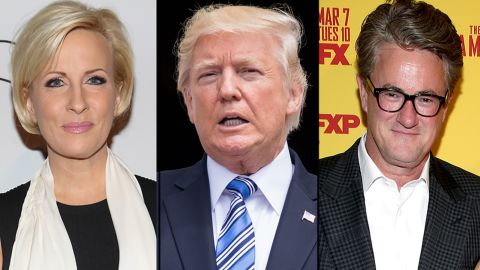 Mika Brzezinski, Donald Trump and Joe Scarborough