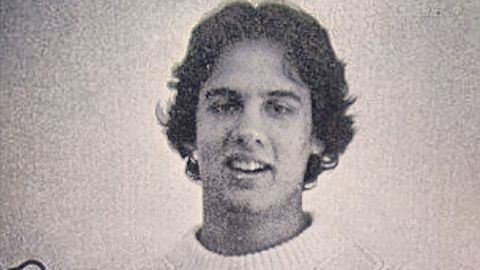 """""""A friend of mine from high school dug up this old pic - look at that sweater (and hair)!"""" <a href=""""https://www.instagram.com/p/dCvuBmTeia/"""" target=""""_blank"""" target=""""_blank"""">Christie wrote on Instagram.</a>"""