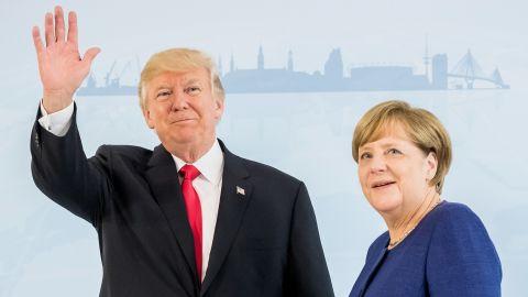 "Trump <a href=""http://www.cnn.com/2017/07/06/politics/trump-merkel-g20/index.html"" target=""_blank"">meets with Merkel</a> on the eve of the summit."