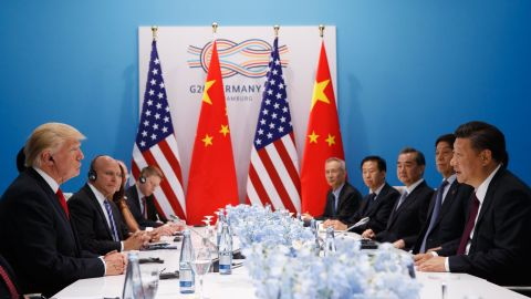 """<a href=""""http://www.cnn.com/2017/07/08/politics/north-korea-trump-xi/index.html"""" target=""""_blank"""">President Donald Trump meets with Chinese President Xi Jinping</a> at the G20 summit on Saturday, July 8, in Hamburg, Germany."""