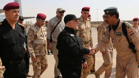 Haider al-Abadi Mosul 7/9/17