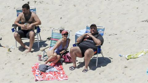 """In July, Christie spends time with family and friends at Island Beach State Park, where the governor has a summer residence. <a href=""""http://www.cnn.com/2017/07/01/politics/nj-government-shutdown-chris-christie/index.html"""" target=""""_blank"""">They were the only ones there</a> because two days earlier, Christie shut down the state government after the Legislature failed to pass a budget. All state-run tourist attractions were closed to the public."""