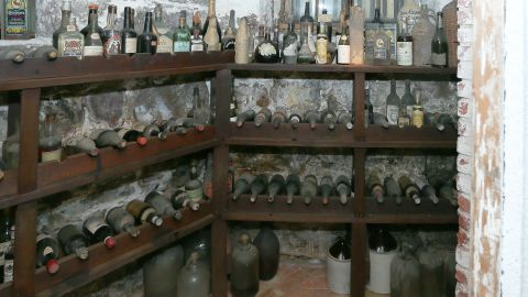 Liberty Hall's wine cellar contained Madeira wine almost as old as the United States.