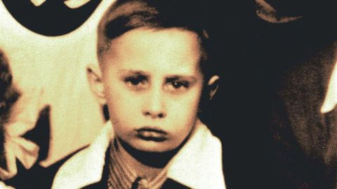 Putin poses for a class photo in 1960. He was born October 7, 1952, in what is now St. Petersburg, Russia.