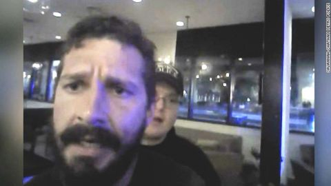 shia labeouf arrest video