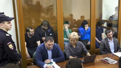 A Russian court last month found the five men guilty of involvement in Nemtsov's killing.