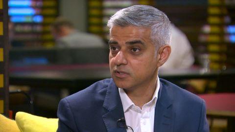 London Mayor Sadiq Khan has had several spats with President Donald Trump.