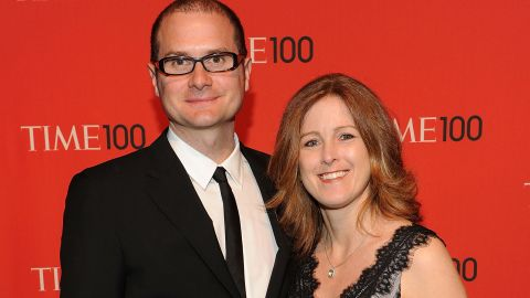 Rob Bell and his wife, Kristen, attend a 2011 event after he was named as one of Time's 100 Most Influential People.