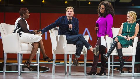 """Rob Bell took part in Oprah Winfrey's 2014 """"The Life You Want Weekend""""  in Seattle."""