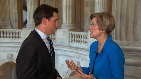 Elizabeth Warren speaks to CNN's Phil Mattingly.