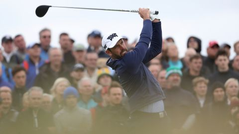 """South African Charl Schwartzel, a former Masters champion, found conditions tough and said it was """"no fun."""""""