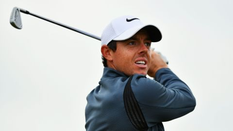 McIlroy was on the charge and played his way into contention with a 2-under-par 68 despite the breeze.