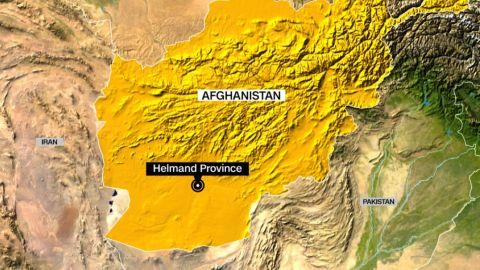 Afghanistan Helmand Province map