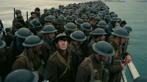 Christopher Nolan's 'Dunkirk' earned three nominations, including best drama.
